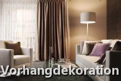 Vorhangdekoration