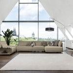 cube lounge beige