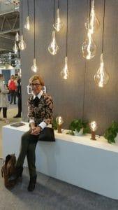 """Rosi Mayrhofer, eine unserer Interieur-Expertinnen auf der """"Maison & Objet"""" in Paris."""